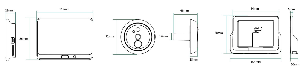 DP1 (CS-DP1-A0-4A1WPFBSR) Silver
