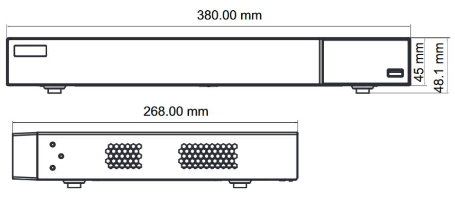 8 Mp 8Ch MHD Відеореєстратор TVT TD-2708TE-HP