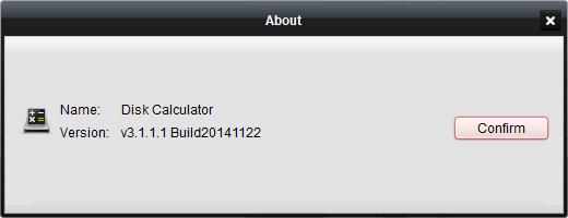 Disk Calculator