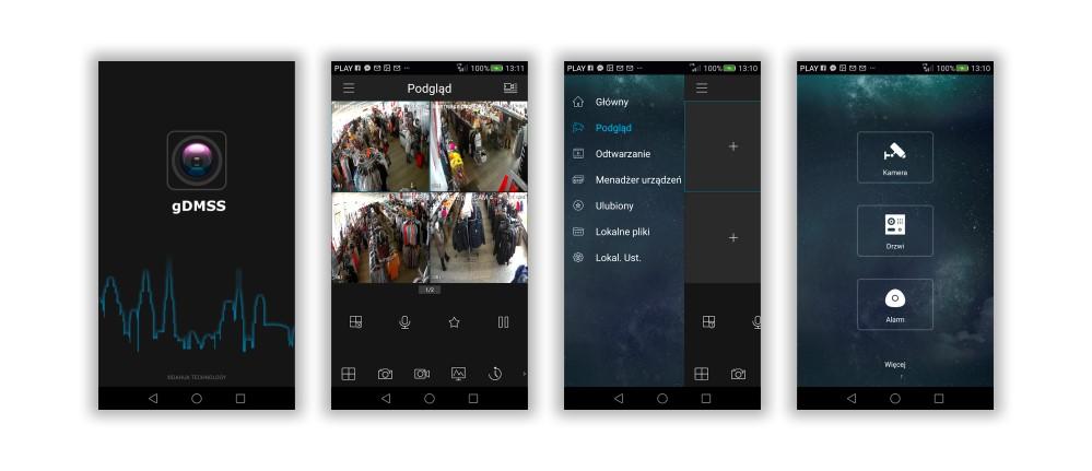 Мобільний додаток gDMSS & amp; iDMSS
