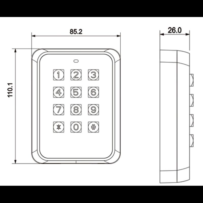 DH-ASR1101M (RS485)