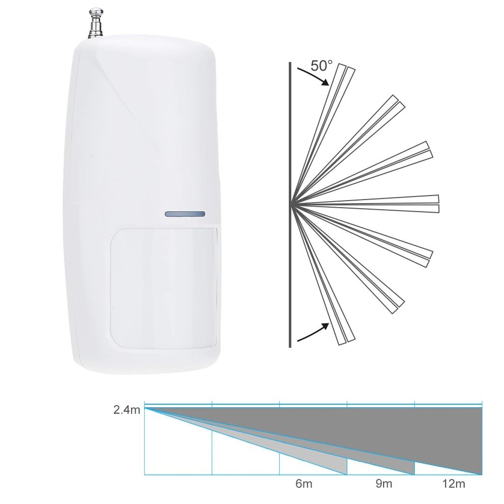 PIR Detector PET 433MHZ