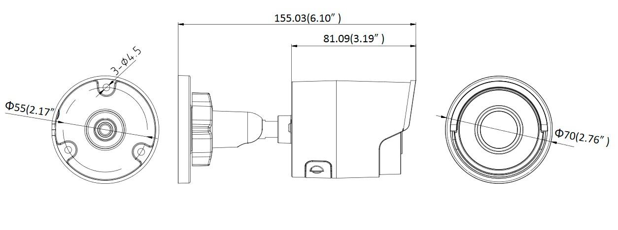 DS-2CD2010F-I (4 мм)