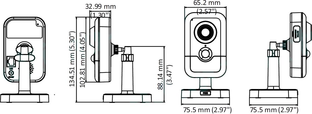 DS-2CD2423G0-I (2.8 мм)