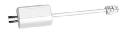 Адаптер питания через коаксиальный кабель LR1002