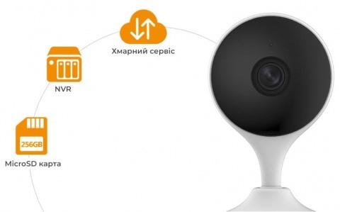 2 Мп IP WI-FI міні відеокамера IMOU IPC-C22EP (2.8 мм)