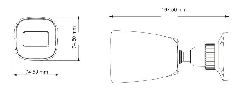 2 Мп IP-видеокамера TVT TD-9421S2H (D/PE/AR2) (2.8 мм)