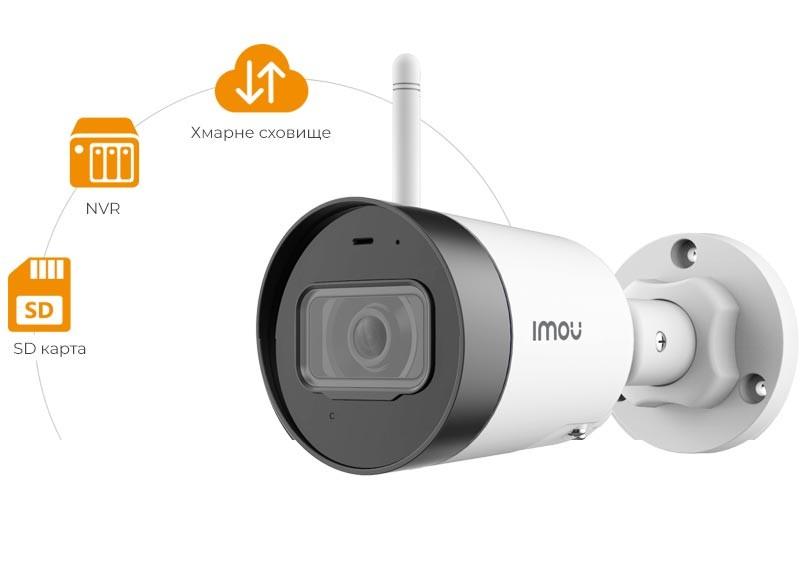 4 Mp уличная Wi-Fi видеокамера IMOU Dahua IPC-G42P (2.8 мм)