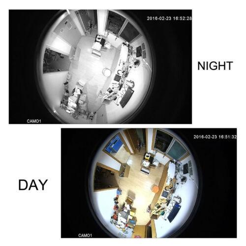 2 Мп MHD Fisheye видеокамера LightVision VLC-2192MEM