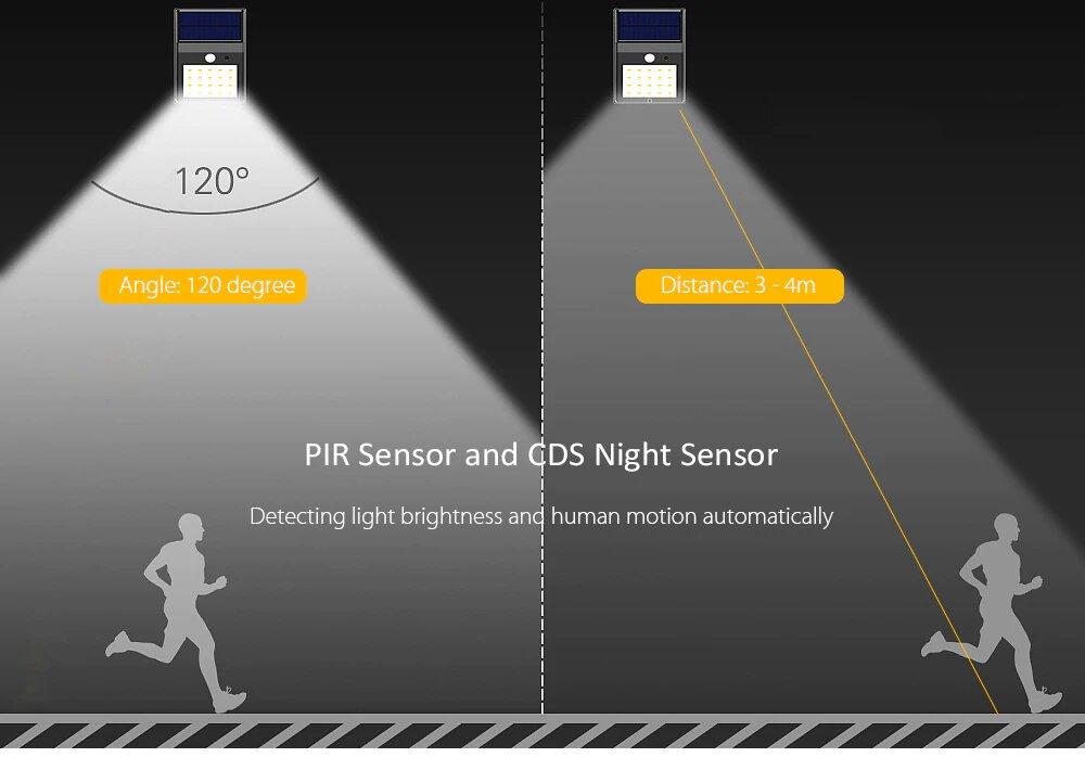 Автономный светильник Solar Motion