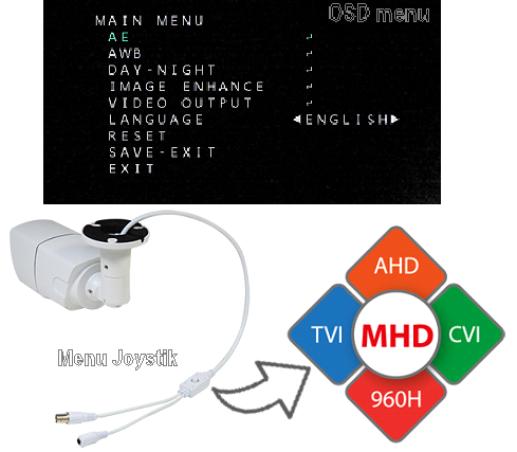 2 Mp MHD всепогодну відеокамера LightVision VLC-1192WM