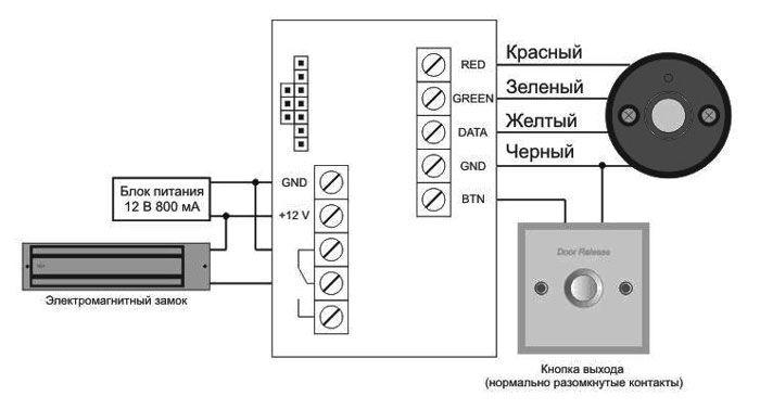 Схема подключения ibc 04