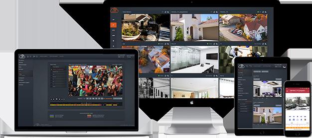 Облачное хранение и удалённое наблюдение IP каналов охранного видеонаблюдения для любых камер и регистраторов для дома и бизнеса