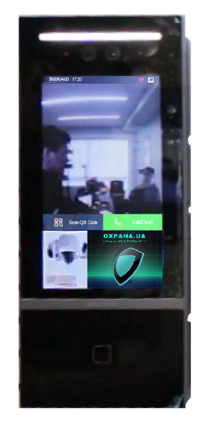 Вызывная панель Hikvision DS-KD9613-E6 с функцией распознавания лиц