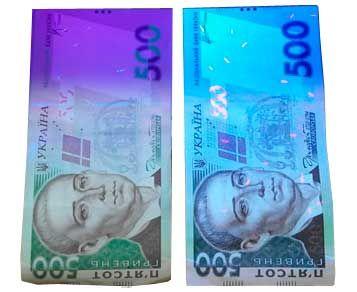 Отличие фальшивых банкнот от настоящих