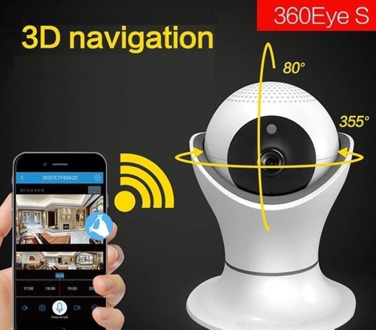 2 Mp IP Wi-Fi видеокамера Light Vision VLC-05ID (2.5 мм)