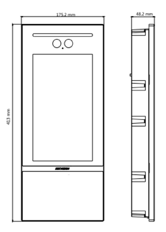 Вызывная панель Hikvision DS-KD9613-FE6 с функцией распознавания лиц