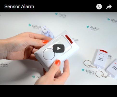 Видео-обзор сигнализации sensor Alarm v2