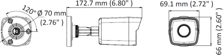 DS-2CD1043G0-I (2.8 мм)