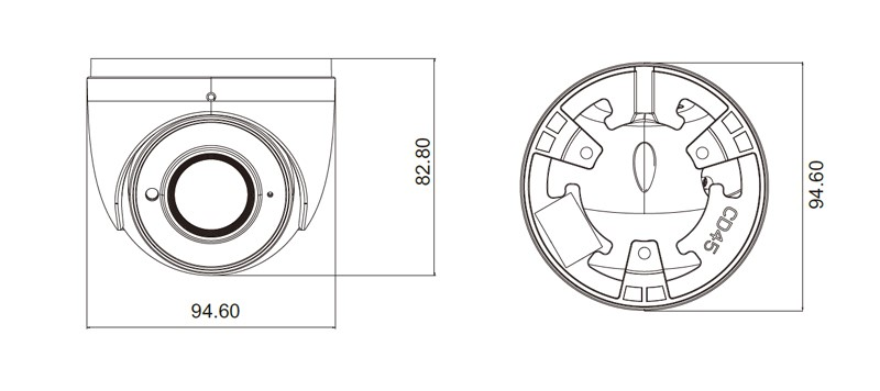 5 Mp ZOOM IP-відеокамера TVT TD-9555E2A (D/AZ/PE/AR3) (3.3-12 мм)