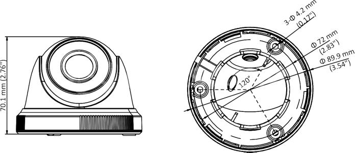 DS-2CE56C0T-IRPF (3.6 мм)