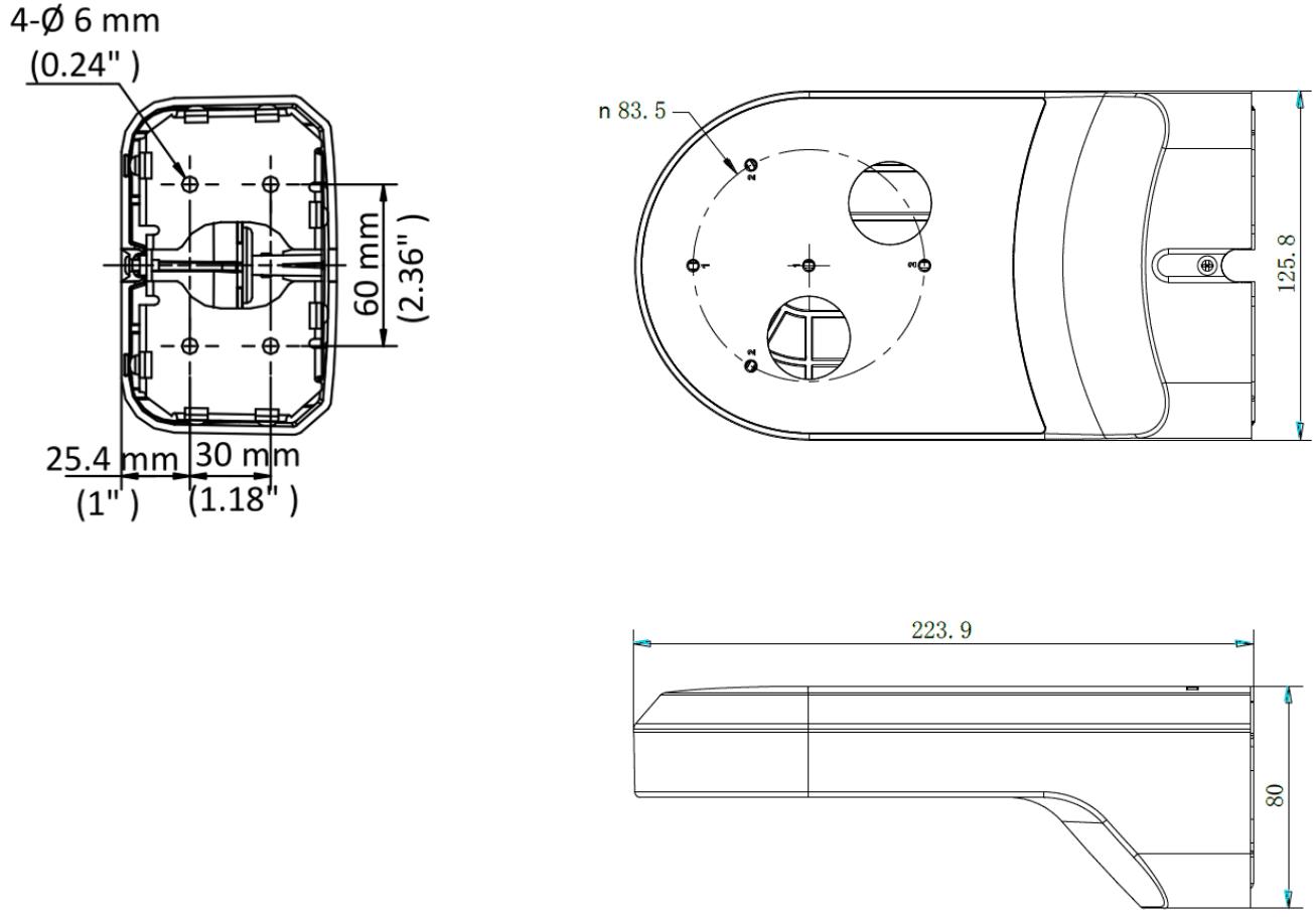 Настенный кронштейн DS-1294ZJ-PT
