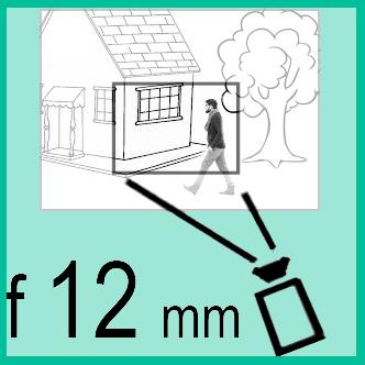 Объектив с фокусным расстоянием 12 мм