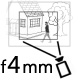 Объектив с фокусным расстоянием 4 мм