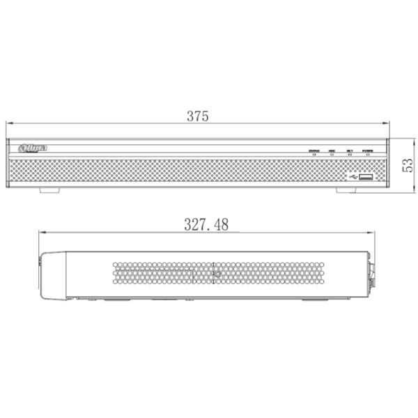 16-канальний 4K мережевий відеореєстратор Dahua DH-NVR4216-16P-4KS2