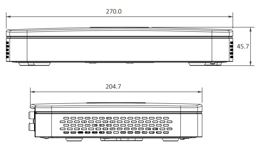 8-канальний Smart PoE IP відеореєстратор Dahua DHI-NVR2108-8P-4KS2
