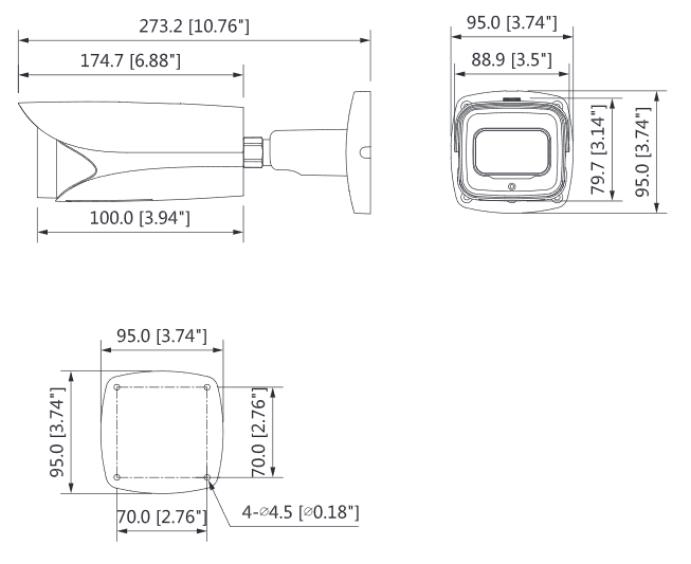DH-IPC-HFW5241EP-ZE (2.7-13.5 мм)