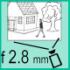 Фото 2 Мп ИК видеокамера DS-2CD2021G1-I (2.8 мм)