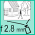 Фото 2 Mp IP видеокамера Hikvision DS-2CD1021-I(D) (2.8 мм)