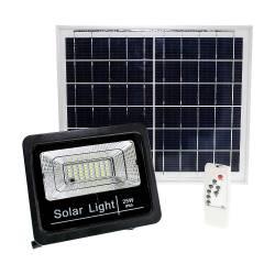 Фото 1 Прожектор светодиодный на солнечной батарее LED NEOMAX 25W с пультом