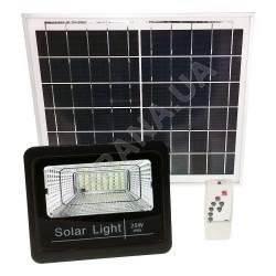 Фото 2 Прожектор светодиодный на солнечной батарее LED NEOMAX 25W с пультом