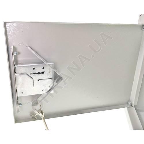Фото Антивандальний металевий ящик (шафа) IPCOM БК-400-з-2