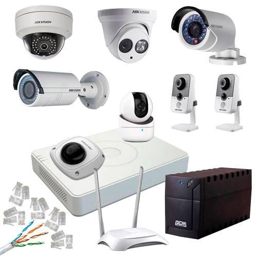Фото Комплект відеоспостереження для приватного будинку 2 MP NVR Ethernet