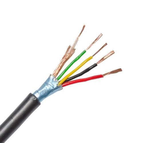 Фото Комбинированный кабель CCTV OK-Net RG59+2x0,5+2x0,22 Cu