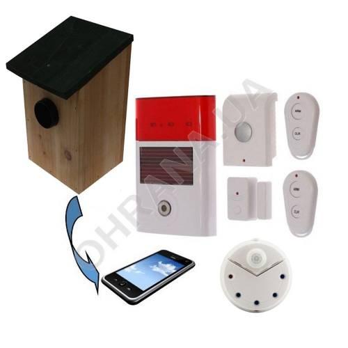 Фото Комплект вуличної GSM сигналізації INTERVISION BIRD GSM BOX