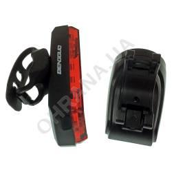 Фото 7 Фонарь велосипедный BG-806-11SMD (red), сигнал + поворотники