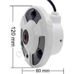Фото 11 2 Mp MHD Fisheye видеокамера LightVision VLC-2192MEM