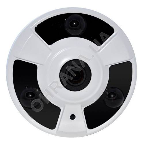 Фото 2 Mp MHD Fisheye видеокамера LightVision VLC-2192MEM