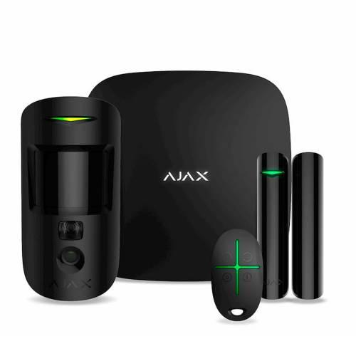 Фото Комплект Ajax StarterKit Cam черный