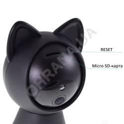 Фото 5 2 Мп IP Wi-Fi видеокамера IPC-6025 Cat Black (2.8 мм)