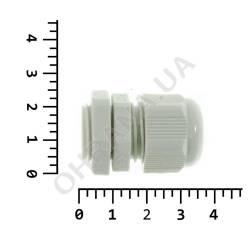 Фото 4 Пластиковый кабельный ввод 6-12 мм PG-13.5