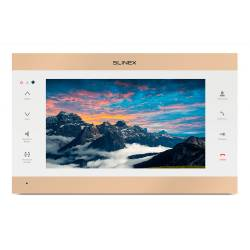Фото 1 Wi-Fi IP видеодомофон Slinex SL-10IPTHD золото-белый
