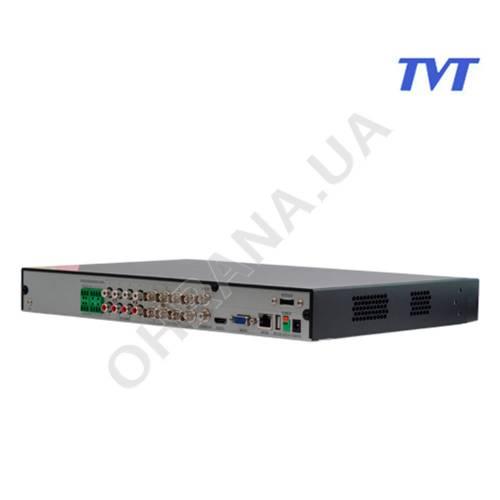 Фото 8 Mp 8Ch MHD Відеореєстратор TVT TD-2708TE-HP