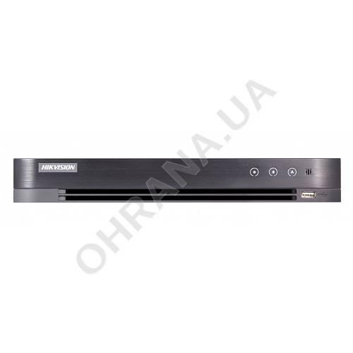 Фото 4-х канальний Turbo HD 4.0 PoC 3 Мп DVR Hikvision DS-7204HUHI-K1/P