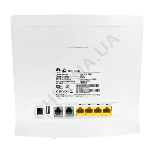 Фото Wi-Fi 3G/4G роутер Huawei B593s - 22 box