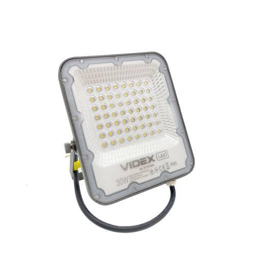 Фото Вуличний прожектор LED VIDEX PREMIUM 30W 220V Gray